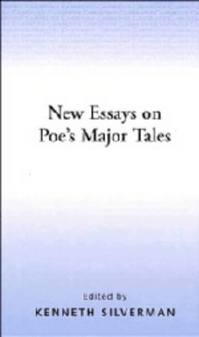 9780521410182: New Essays on Poe's Major Tales (The American Novel)