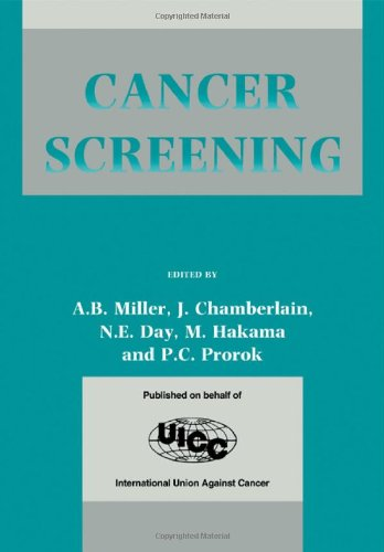 9780521410410: Cancer Screening