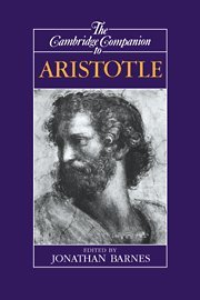 9780521411332: The Cambridge Companion to Aristotle (Cambridge Companions to Philosophy)