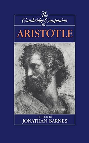 9780521411332: The Cambridge Companion to Aristotle Hardback (Cambridge Companions to Philosophy)