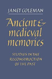 9780521411448: Ancient and Medieval Memories: Studies in the Reconstruction of the Past