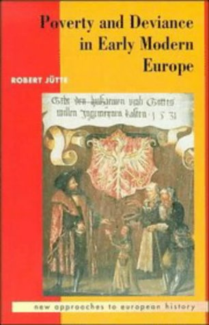 9780521411691: Poverty and Deviance in Early Modern Europe