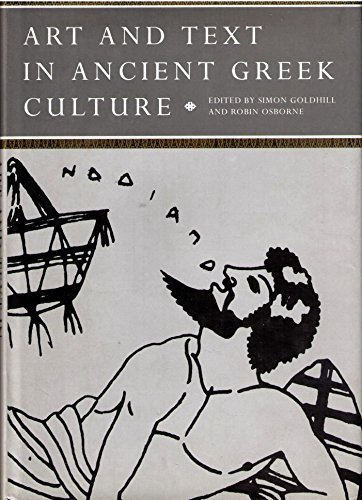 9780521411851: Art and Text in Ancient Greek Culture (Cambridge Studies in New Art History and Criticism)