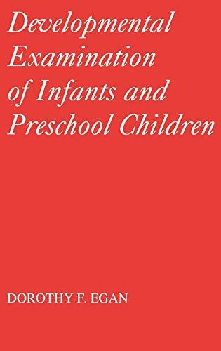 9780521411974: Developmental Examination of Infants and Preschool Children (Clinics in Developmental Medicine (Mac Keith Press))