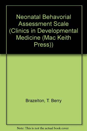 9780521412087: Neonatal Behavorial Assessment Scale