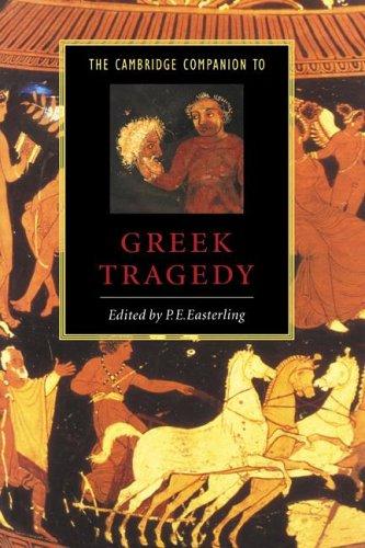 9780521412452: The Cambridge Companion to Greek Tragedy (Cambridge Companions to Literature)