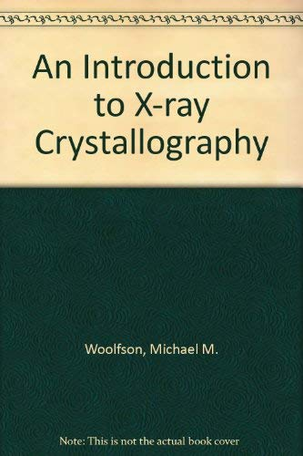 9780521412711: An Introduction to X-ray Crystallography