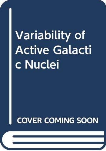 9780521412957: Variability of Active Galactic Nuclei