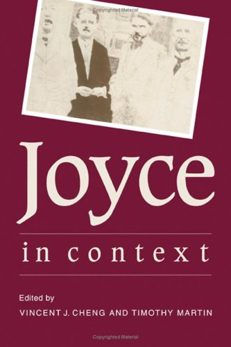 Joyce in Context: Vincent John Cheng,