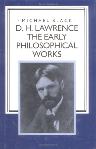 9780521415842: D. H. Lawrence: The Early Philosophical Works
