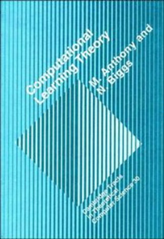 9780521416030: Computational Learning Theory (Cambridge Tracts in Theoretical Computer Science)