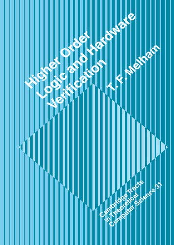 9780521417181: Higher Order Logic and Hardware Verification (Cambridge Tracts in Theoretical Computer Science)
