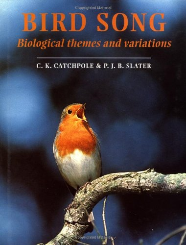 9780521417990: Bird Song: Biological Themes and Variations
