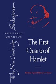 9780521418195: The First Quarto of Hamlet (The New Cambridge Shakespeare: The Early Quartos)