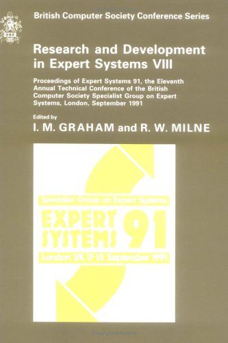 9780521418386: Research and Development in Expert Systems VIII: Proceedings of 11th Annual Technical Conference of the BCS Specialist Group, September 1991 (British Computer Society Conference Series)