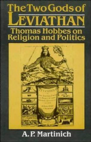 9780521418492: The Two Gods of Leviathan: Thomas Hobbes on Religion and Politics