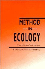 9780521418614: Method in Ecology Hardback: Strategies for Conservation