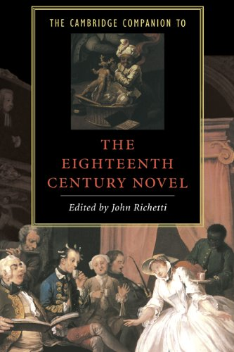 9780521419086: The Cambridge Companion to the Eighteenth-Century Novel (Cambridge Companions to Literature)