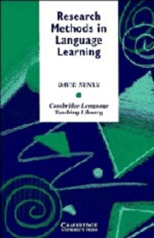 9780521419376: Research Methods in Language Learning (Cambridge Language Teaching Library)