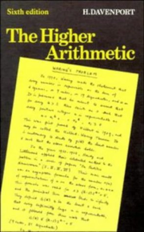 9780521419987: The Higher Arithmetic