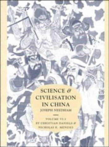 9780521419994: Science and Civilisation in China Volume 6: Biology and Biological Technology, Part 3, Agro-Industries and Forestry