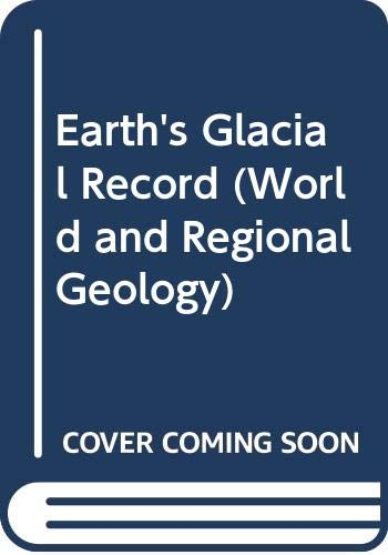 9780521420228: Earth's Glacial Record (World and Regional Geology)