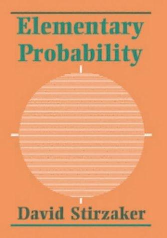 9780521420280: Elementary Probability