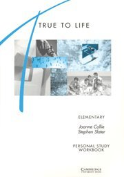 9780521421416: True to Life Elementary Personal study workbook: English for Adult Learners