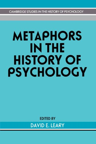 9780521421522: Metaphors in the History of Psychology (Cambridge Studies in the History of Psychology)