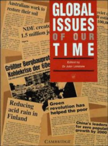 Global Issues of our Time: John Lidstone, Hartwig