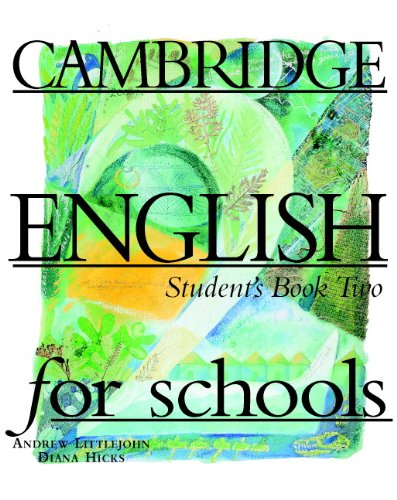 9780521421706: Cambridge English for Schools 2 Student's book (Bk. 2)