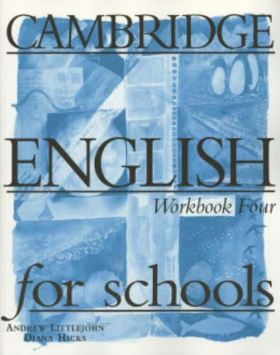 9780521421768: Cambridge English for Schools 4 Workbook