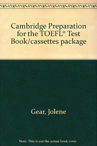 9780521421911: Cambridge Preparation for the TOEFL® Test Book/cassettes package