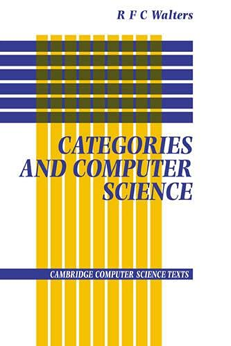 9780521422260: Categories and Computer Science (Cambridge Computer Science Texts)