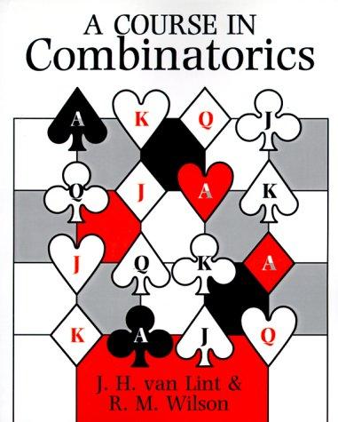9780521422604: A Course in Combinatorics