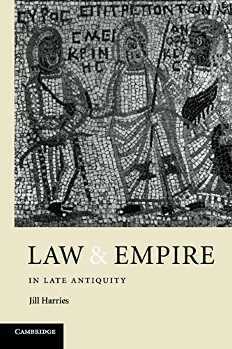 9780521422734: Law and Empire in Late Antiquity Paperback