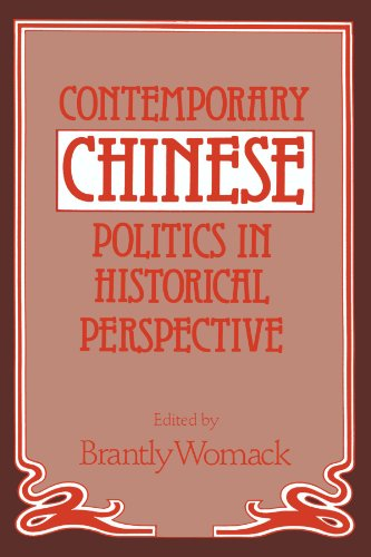 Contemporary Chinese Politics in Historical Perspective
