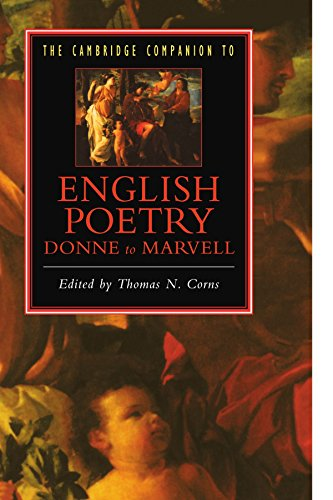 9780521423090: The Cambridge Companion to English Poetry, Donne to Marvell