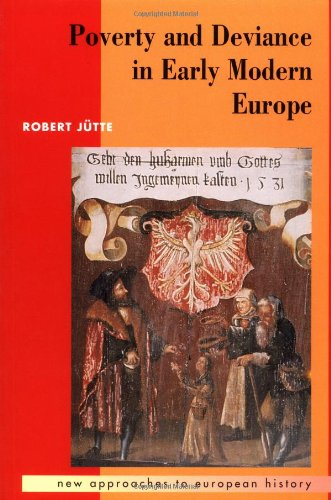 9780521423229: Poverty and Deviance in Early Modern Europe