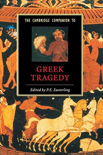 9780521423519: The Cambridge Companion to Greek Tragedy Paperback (Cambridge Companions to Literature)