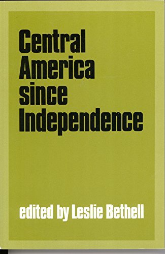 9780521423731: Central America since Independence (Cambridge History of Latin America)