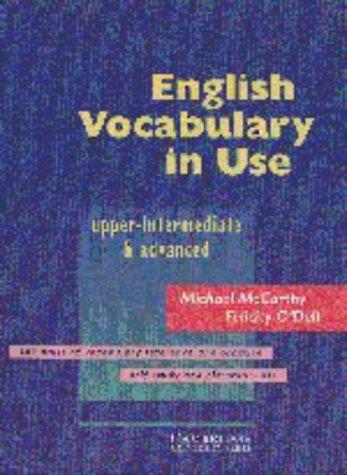 9780521423960: English Vocabulary in Use Upper-intermediate & advanced