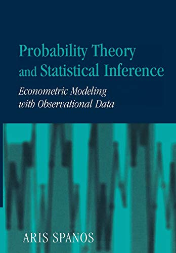 9780521424080: Probability Theory and Statistical Inference: Econometric Modeling with Observational Data