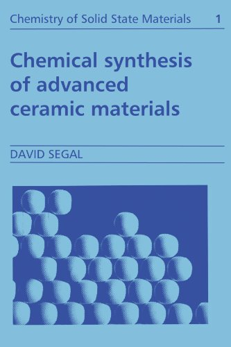 9780521424189: Chemical Synthesis of Advanced Ceramic Materials (Chemistry of Solid State Materials)