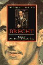 9780521424851: The Cambridge Companion to Brecht (Cambridge Companions to Literature)