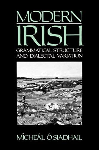 9780521425193: Modern Irish: Grammatical Structure and Dialectal Variation (Cambridge Studies in Linguistics)
