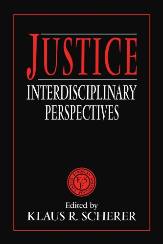9780521425254: Justice: Interdisciplinary Perspectives