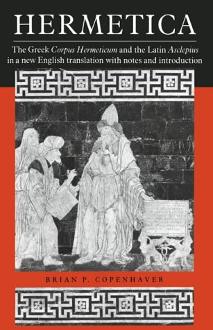 9780521425438: Hermetica: The Greek Corpus Hermeticum and the Latin Asclepius in a New English Translation: With Notes and Introduction