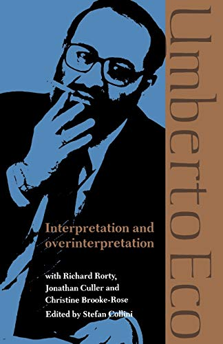 9780521425544: Interpretation & Overinterpretation