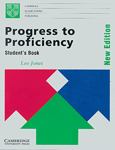 9780521425759: Progress to Proficiency Student's book: New Edition (Cambridge examinations publishing)